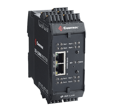 DR 8 EIP P right Web - IO-Link Master Gateway Modbus TCP