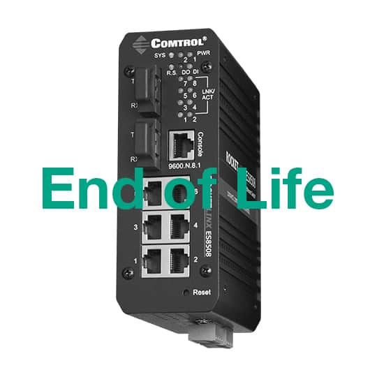 ES8508F - RocketLinx Industrial Ethernet Managed Switches