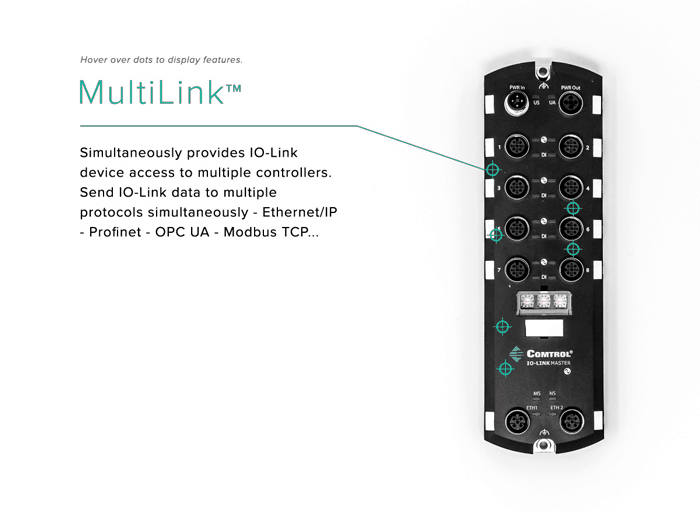 multilink700 - IO-Link Master Gateway EtherNet/IP